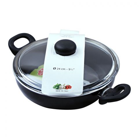 Ballarini Non-Stick Karahi Pan, 24cm, 9.5 Inches
