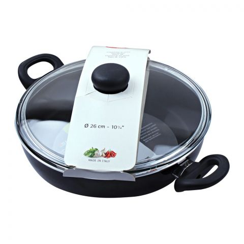 Ballarini Non-Stick Karahi Pan, 26cm, 10.5 Inches