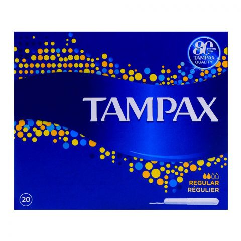 Tampax Regular 20-Pack