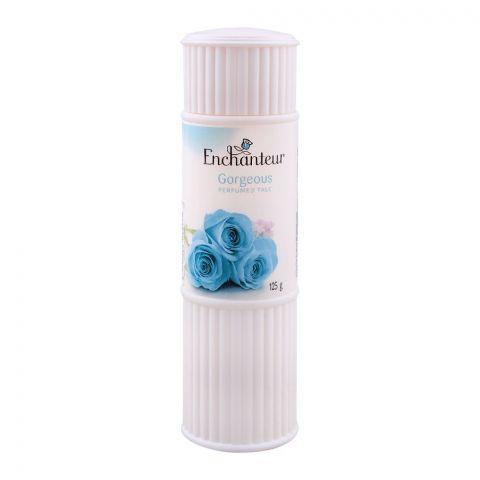 Enchanteur Gorgeous Talcum Powder, 125g