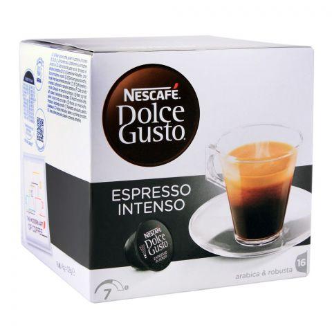 Nescafe Dolce Gusto Espresso Intenso Capsules, 16 Single Serve Pods