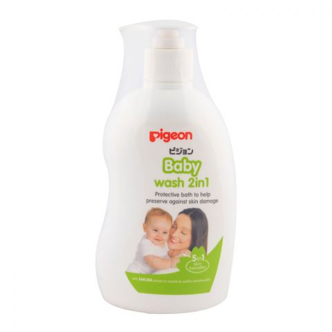 Pigeon Baby Wash 2 in 1 500ml