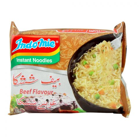 Indomie Beef Flavour Instant Noodles, 70g