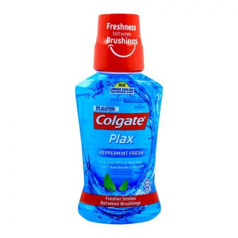 Colgate Plax Peppermint Fresh Mouthwash 250ml