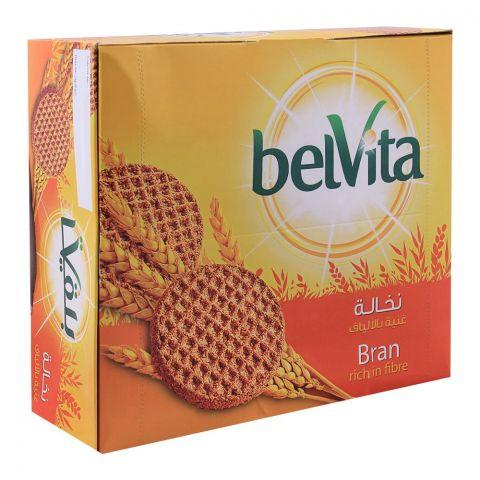 Belvita Bran Rich In Fibre Biscuits 62g, 12 Packs