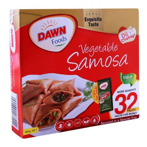 Dawn Vegetable Samosa, 32 Pieces, 480g