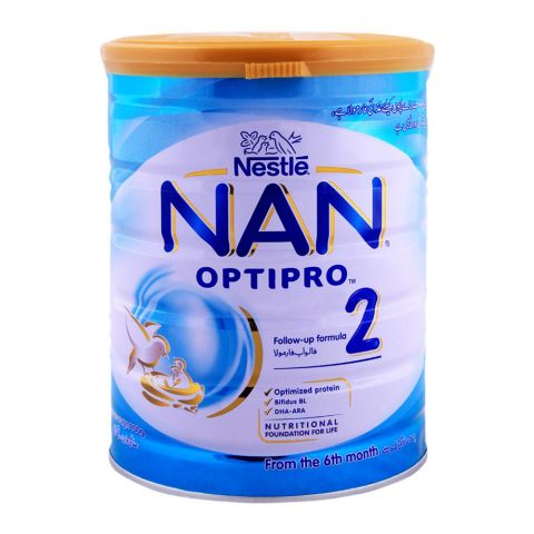 Nestle NAN Optipro, Stage 2, Follow-Up Formula, 900g
