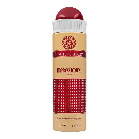Louis Cardin Impressions Femme Deodorant Spray, For Women, 200ml