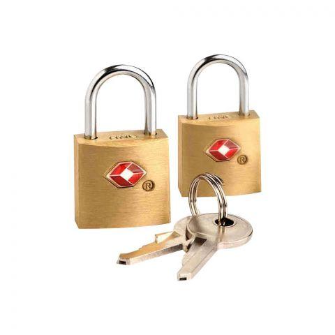 Travel Blue Travel Sentry TSA Approved Lock, 2-Pack, 023