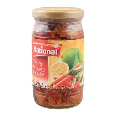 National Spicy Mixed Pickle, 310g