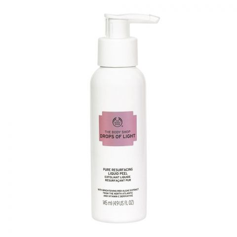 The Body Shop Drops Of Light Pure Resurfacing Liquid Peel, 145ml