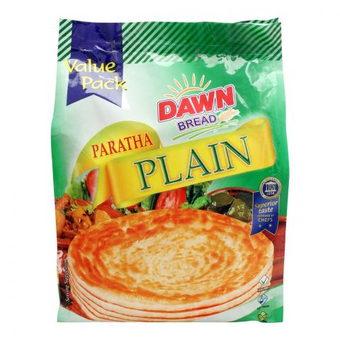 Dawn Plain Paratha, Value Pack, 30 Pieces, 2400g