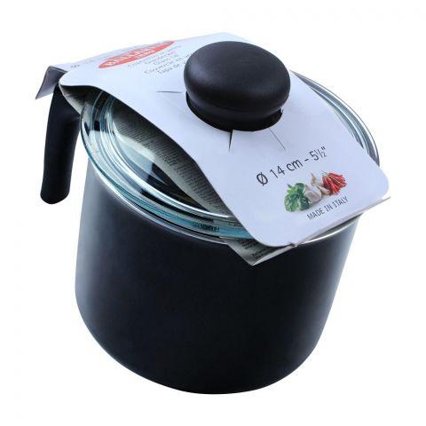 Ballarini Milk Pan, 14cm, 5.5 Inches, Non-Stick