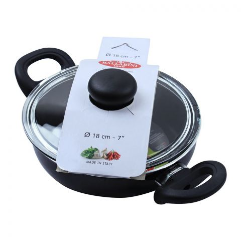 Ballarini Non-Stick Karahi Pan, 18cm, 7 Inches