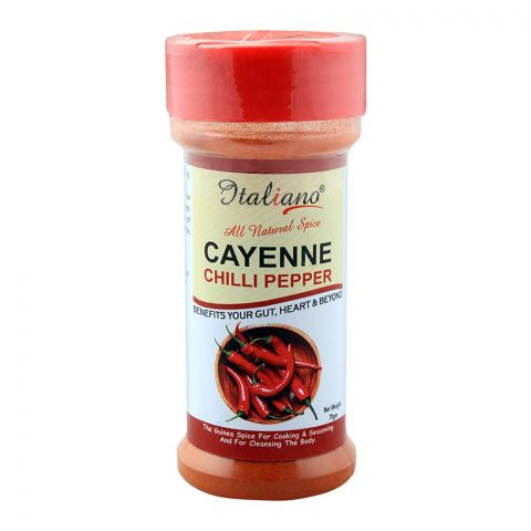 Italiano Cayenne Chilli Pepper, 70g