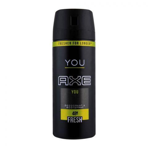 Axe You 48H Fresh Deodorant Spray For Men, 150ml