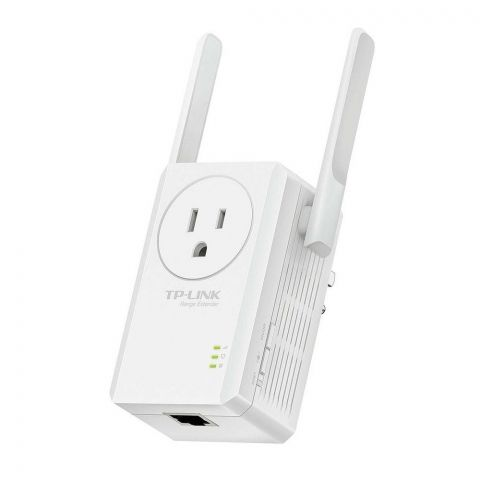 TP-LINK 300Mbps Wi-Fi Range Extender, With AC Pass Through, TL-WA860RE