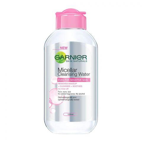 Garnier Skin Naturals Micellar Cleansing Water, Alcohol Free, 125ml