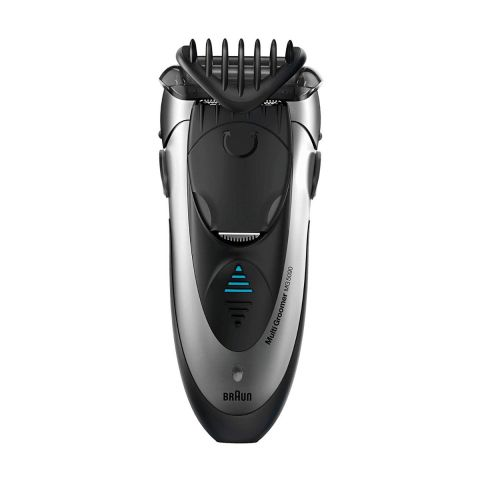 Braun MultiGroomer 3-in-1 Shave, Style & Trim, Black, MG5050
