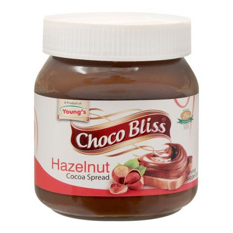 Young's Choco Bliss Hazelnut Cocoa Spread, 350g