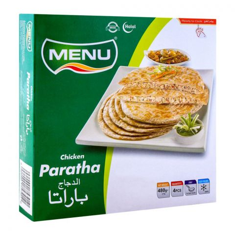 Menu Chicken Paratha, 4 Pieces, 480g