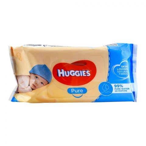 Huggies Pure Baby Wipes 56-Pack