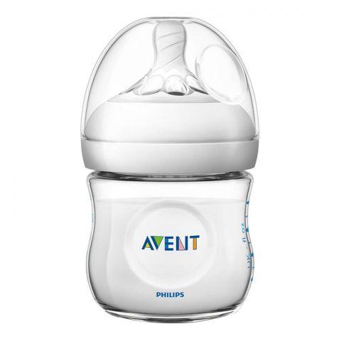 Avent Natural Feeding Bottle, 0m+, 125ml/4oz, SCF690/13