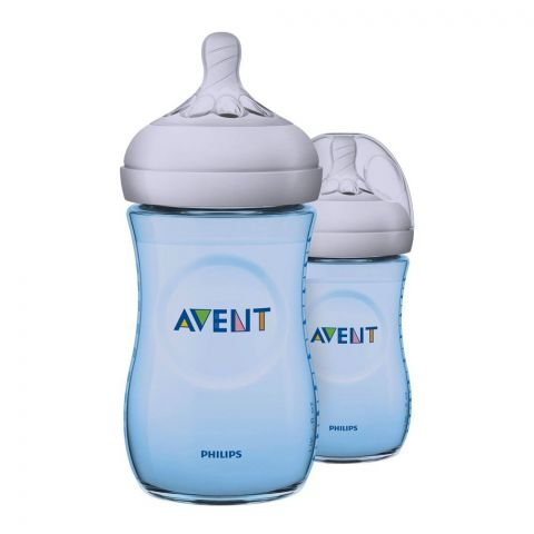 Avent Natural Feeding Bottle 2-Pack 260ml - SCF695/23