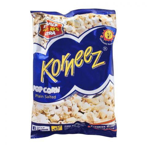 Korneez Popcorn, Plain Salted, 40g