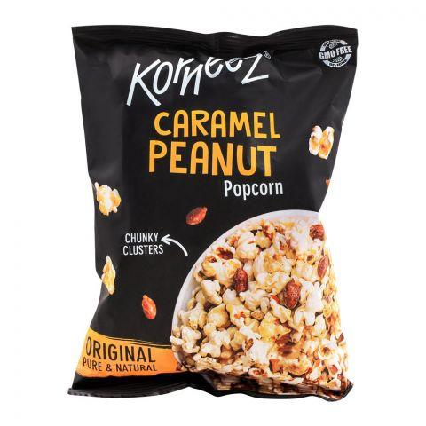 Korneez Caramel Peanut Popcorn, 80g