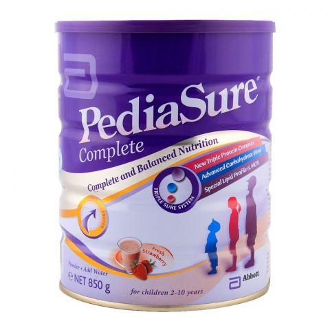 Pedia Sure Complete Strawberry Triplesure 850gm