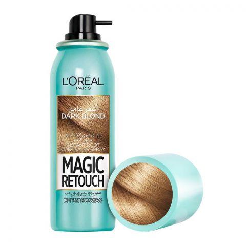 L'Oreal Paris Magic Retouch Instant Root Concealer Spray, Dark Blond, 75ml