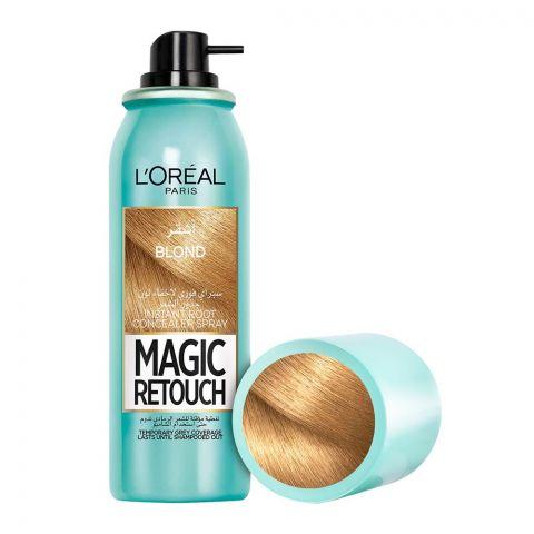 L'Oreal Paris Magic Retouch Instant Root Concealer Spray, Blond, 75ml
