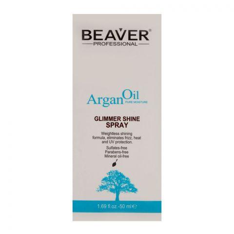 Beaver Professional Argan Oil Glimmer Shine Spray 50ml