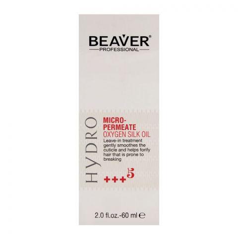 Beaver Professional Hydro Micro-Permeate Oxygen Silk Oil 60ml