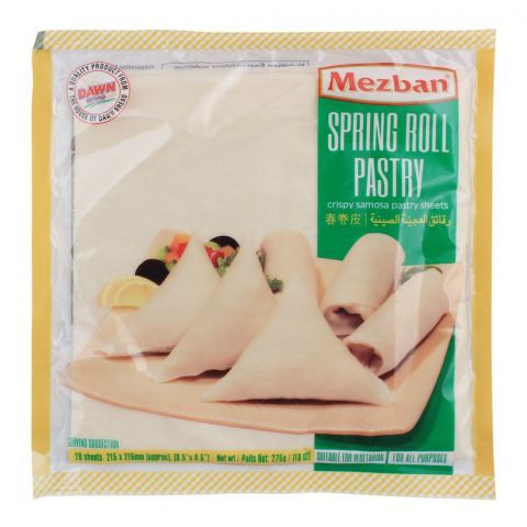 Mezban Crispy Roll Patti, 20-Sheets, 275g