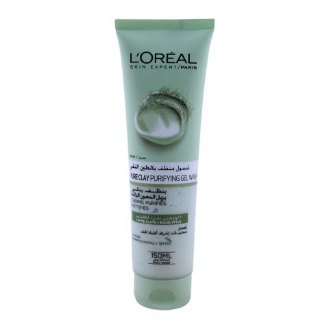 L'Oreal Paris Pure Clay Purifying Gel Wash 150ml