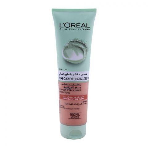 L'Oreal Paris Pure Clay Exfoliating Gel Wash 150ml