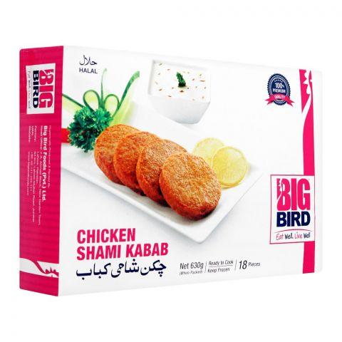 Big Bird Chicken Shami Kabab, 18 Pieces, 630g