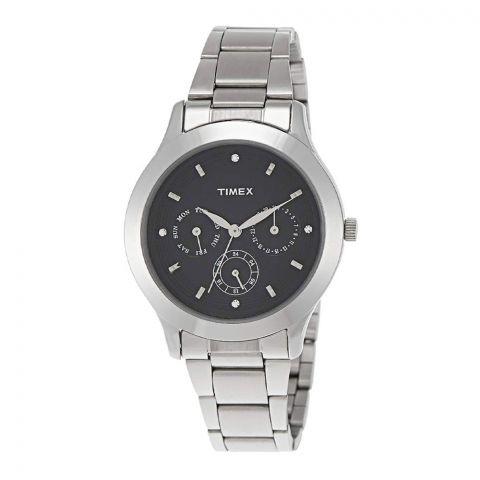 Timex E-Class Analog Black Dial Women's Watch - TI000Q80400
