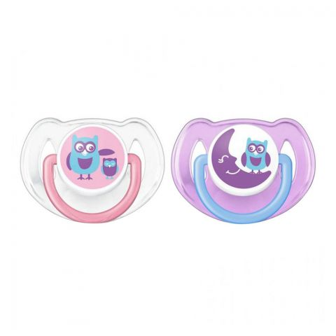 Avent Fashion Soothers, 2-Pack, 6-18m, Blue/Pink, SC197/22