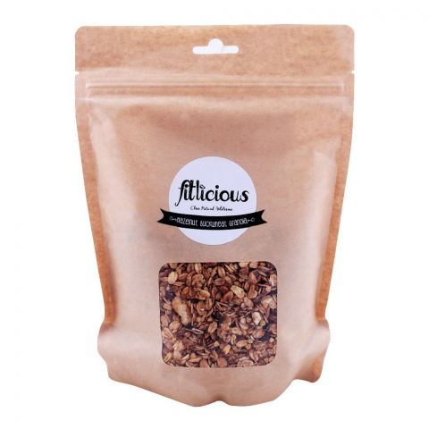 Fitlicious Hazelnut Buckwheat Granola, Muesli Large