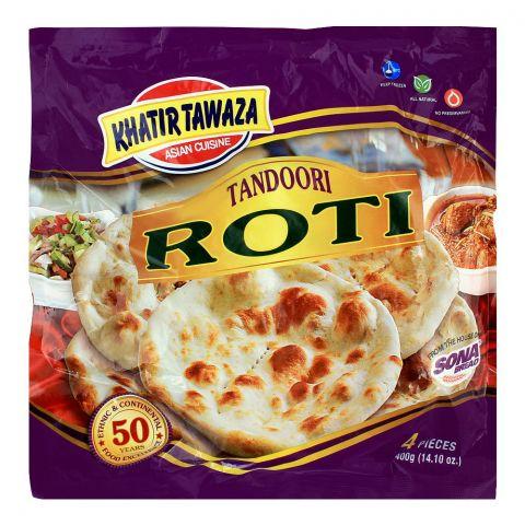 Khatir Tawaza Frozen Tandoori Roti, 4-Pack