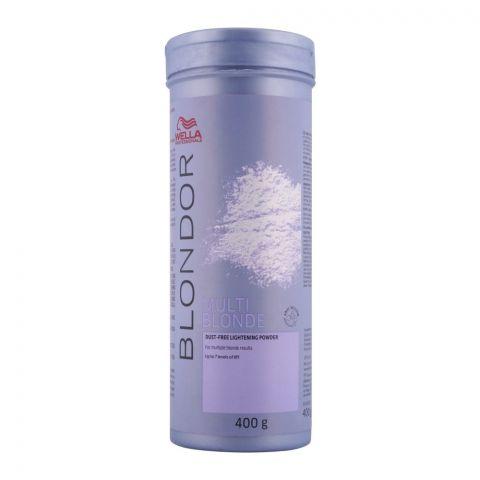 Wella Blondor Multi Blonde Dust-Free Lightening Powder, 400g