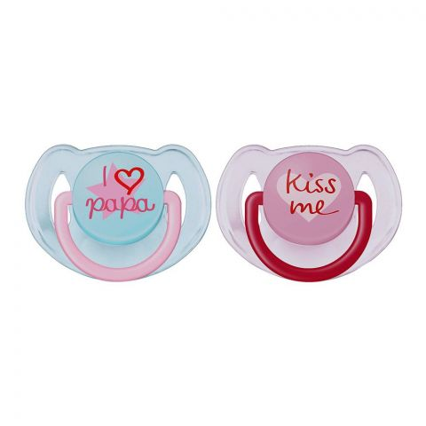 Avent Fashion Orthodontic Soothers 1'S 6-18m - SCF172/70