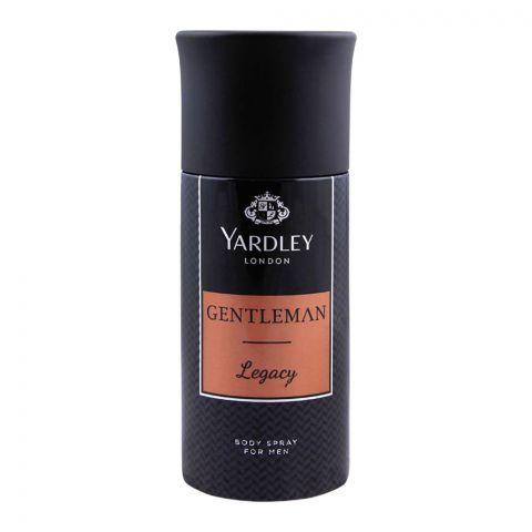 Yardley Gentleman Legacy Deodorant Body Spray, 150ml