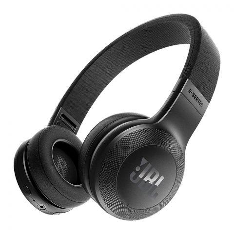 JBL Wireless On-Ear Headphones Black - E-45BT