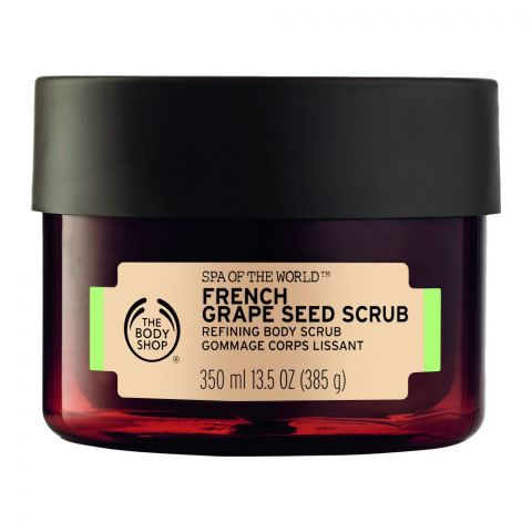 The Body Shop Spa Of The World, French Grape Seed Body Scrub, 350ml