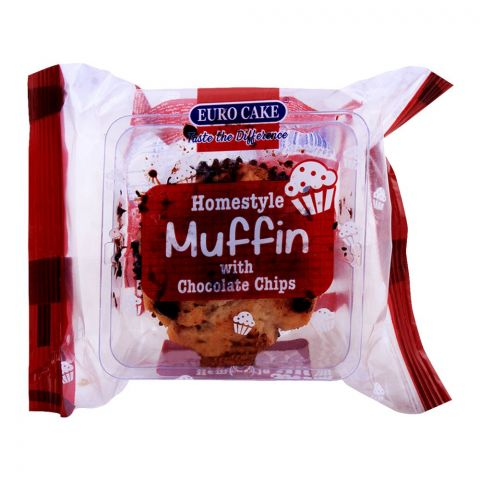 Eurocake Home Style Muffin With Chocolate Chips, 60g