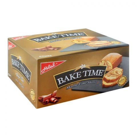 Hilal Bake Time Marble Cake Slices, 6 Packs, 40g